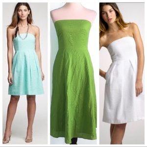NWT J. Crew Embossed Lorelei Lime Dress